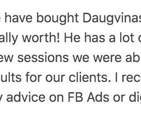 Facebook Reklamos Specialistas, Strategas, Konsultantas