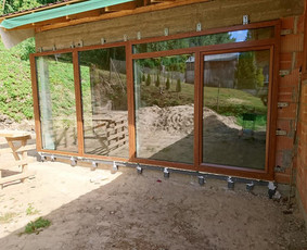 Plastiko, Aliuminio, Medžio profilio langai,durys,pertvaros / UAB JUSTIGNA / Darbų pavyzdys ID 573277