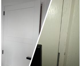 Stringančių durų remontas