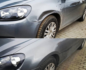 Automobilių kėbulo lyginimas be dažymo / PDR kursai, mokymai / Darbų pavyzdys ID 576637