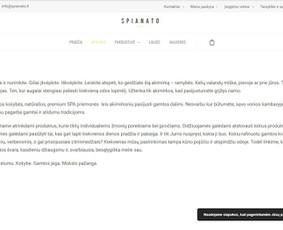 """www.spianato.lt tekstas """"Apie mus"""""""