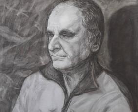 Portretų piešimas ir tapyba iš nuotraukos, iš natūros