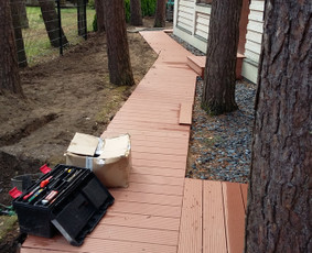 Terasų įrengimas kiti medienos darbai Tavo Terasa