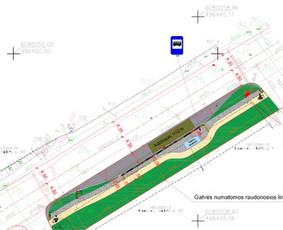 Sklypo sutvarkymo, transporto judėjimo schemų projektavimas