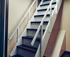 Tikro Medžio Laiptai, Durys, Baldai