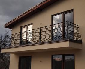 balkono turėklų gamyba.
