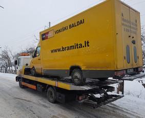 Techninė pagalba kelyje 24/7 Vilniuje / Piotr / Darbų pavyzdys ID 586715