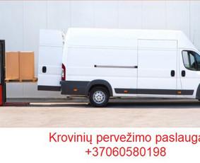 Krovinių pervežimo paslaugas Visoje Lietuvoje!