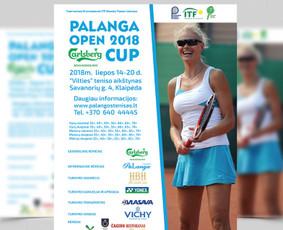 Palanga OPEN CUP 2018 - plakatas