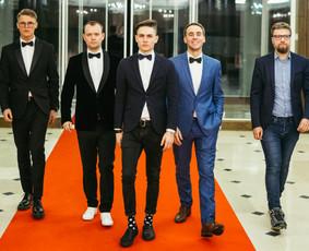 Renginių vedėjas Evaldas Jankantas kartu su DJ komanda / Evaldas Jankantas / Darbų pavyzdys ID 587823