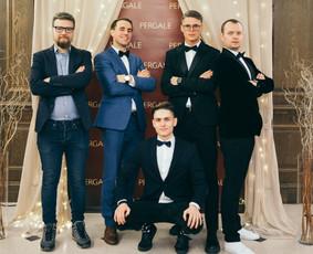 Renginių vedėjas Evaldas Jankantas kartu su DJ komanda / Evaldas Jankantas / Darbų pavyzdys ID 587825