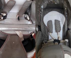 Vaikiškų vežimėlių valymas