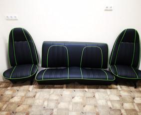 Auto salonų siuvimas, baldu gamyba