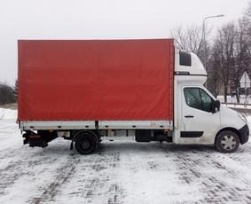 Krovinių pervežimai tentiniu mikroautobusu +37069924248