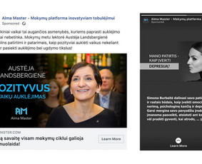 Reklama internete - Facebook, Instagram