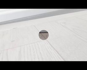 Automatinio durų slenksčio montavimas