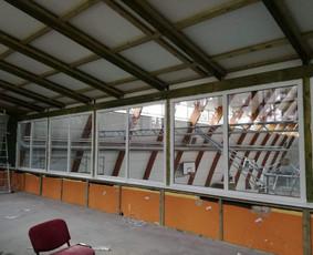 Plastikiniai langai ir jų montažas