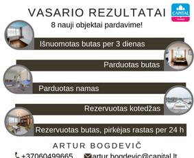 Sertifikuotas nekilnojamojo turto brokeris Vilniuje / Artur Bogdevič / Darbų pavyzdys ID 608737
