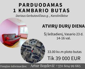 Sertifikuotas nekilnojamojo turto brokeris Vilniuje / Artur Bogdevič / Darbų pavyzdys ID 608739