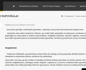 Tekstų kūrėja / Irma Norkūnienė / Darbų pavyzdys ID 609607