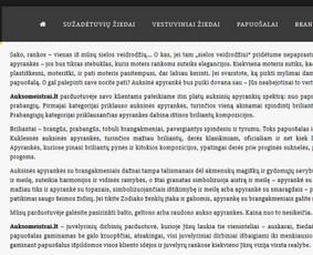 Tekstų kūrėja / Irma Norkūnienė / Darbų pavyzdys ID 609615