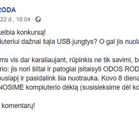 Straipsnių ir įvairių tekstų kūrimas lietuvių kalba