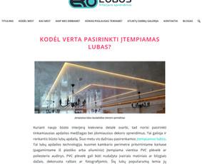Loris - Visos Turinio Rinkodaros paslaugos (Lt / En) / Loris.lt / Darbų pavyzdys ID 613451