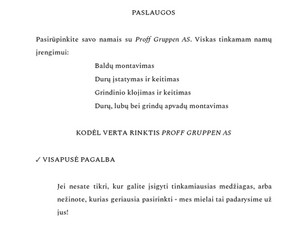 Turinio strategija verslui / Rašytoja / Copywriter (LT, EN)