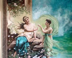 Meninis sienų dekoravimas. Tapyba ant sienų, Relejefai