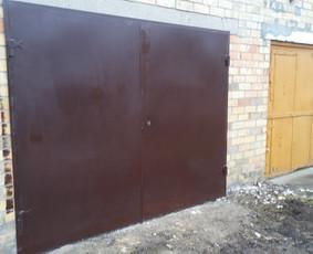 [#] Metaliniai Garazo Vartai, durys, puikia kaina$