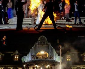 Hefaistas - Fakyrai, Ugnies šou, Pasirodymai su ugnimi