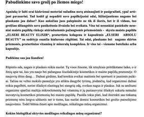 Gitana Railienė, tekstų kūrėja, visa Lietuva / Gitana Railienė / Darbų pavyzdys ID 623717