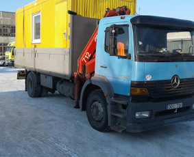 Krovinių pervežimas, iškrovimas-pakrovimas manipuliatoriumi