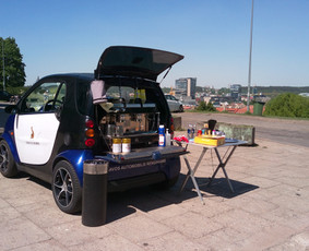 Kavos automobilis SMART