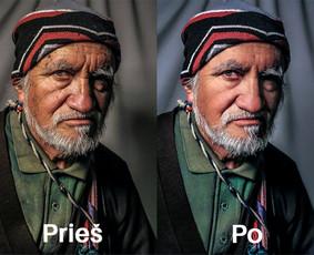 Profesionalus nuotraukų redagavimas, retušavimas