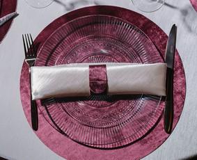 Stalo serviravimas mažoms ir didelėms šventėms