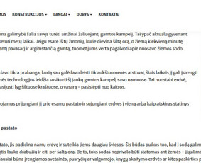 Straipsnių, tekstų svetainėms, reklamai rašymas / Monika Žiūkaitė / Darbų pavyzdys ID 639409