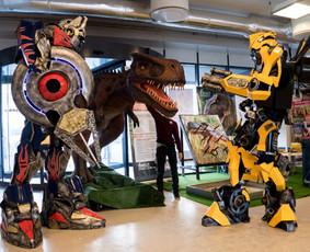 Įspūdingas Robotų pasirodymas | Įspūdinga Kalėdinė programa
