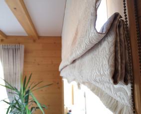 Interjero tekstilės dekoravimas ir siuvimas.