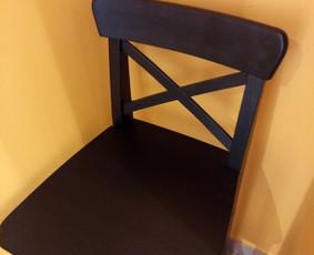 Daiktų taisymas - kėdės atlošo prisukimas / remontas