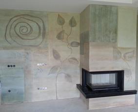 Interjero dekoravimas, bareljefai, freskos, sienų skulptūros / Lina / Darbų pavyzdys ID 647225