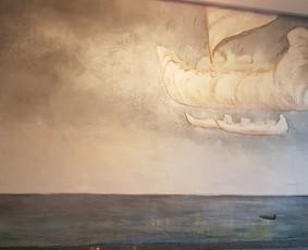 Interjero dekoravimas, bareljefai, freskos, sienų skulptūros / Lina / Darbų pavyzdys ID 647249