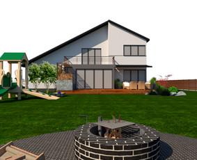 Aplinkos apželdinimo projektavimas / Rolanda / Darbų pavyzdys ID 652041