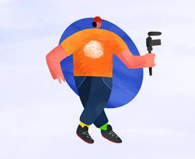 Visos dizaino paslaugos / Iliustracijos / 2D Animacija ir kt