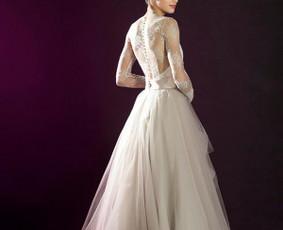 Vestuvinių suknelių siuvimas, prancūziški nėriniai, audiniai