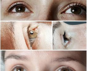 Blakstienų laminavimas, antakių korekcija, depiliacija