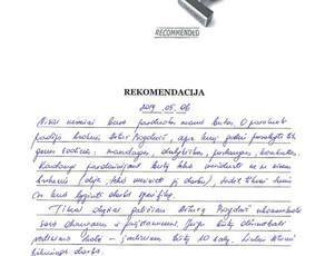 Sertifikuotas nekilnojamojo turto brokeris Vilniuje / Artur Bogdevič / Darbų pavyzdys ID 661213