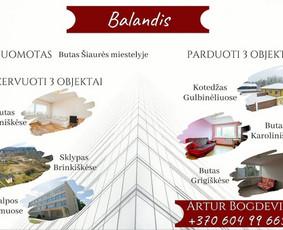 Sertifikuotas nekilnojamojo turto brokeris Vilniuje / Artur Bogdevič / Darbų pavyzdys ID 661223