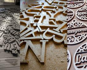 Gaminių dizainas, pjaustymas lazeriu, CNC frezavimas,