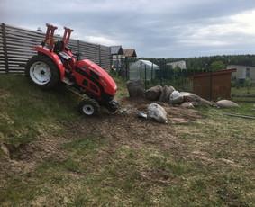 Aplinkos tvarkymo, vejos įrengimo sėjimo darbai Vilniuje